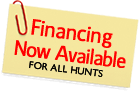Financing now available for Exotic Game and Wild Hog Hunts