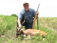 Blackbuck Hunts with professional hunting guide Dan Moody Hunting Services in Texas