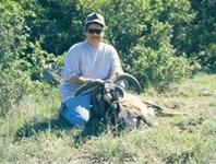 Four Horned Sheep Hunts with professional hunting guide Dan Moody Hunting Services in Texas