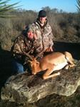 Impala Hunts with professional hunting guide Dan Moody Hunting Services in Texas