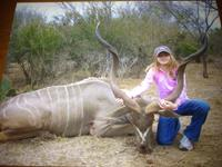Kudo Hunts with professional hunting guide Dan Moody Hunting Services in Texas