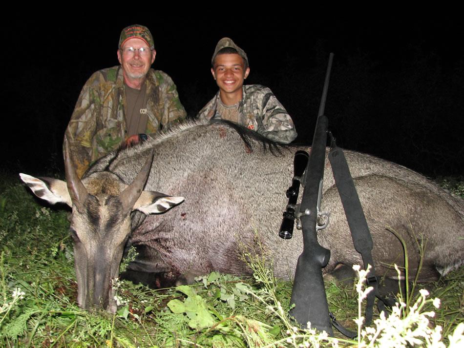 Nilgai Hunt Dan Moody Texas Hunting Guide Services