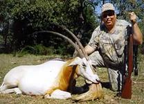 Oryx Hunts with professional hunting guide Dan Moody Hunting Services in Texas