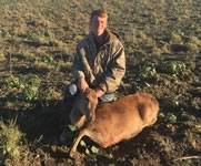 Red Stag Hunts with professional hunting guide Dan Moody Hunting Services in Texas