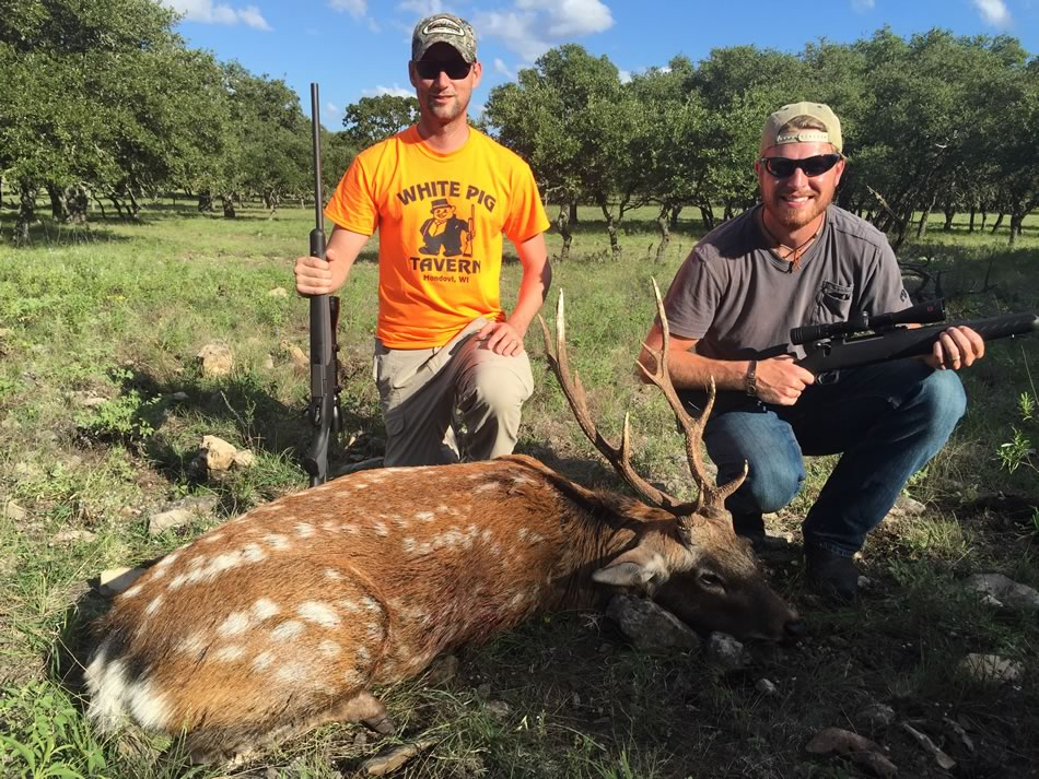 Sika Hunt Dan Moody Texas Hunting Guide Services