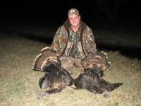 Turkey Hunts with professional hunting guide Dan Moody Hunting Services in Texas