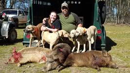 Willie,Lady,Rocket and Molly make father and daughter hunts off the chain, thanks dan. - Kenneth Starr
